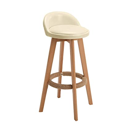 Astonishing Amazon Com Cylq Wooden Rotating Bar Stool Counter Height Gamerscity Chair Design For Home Gamerscityorg