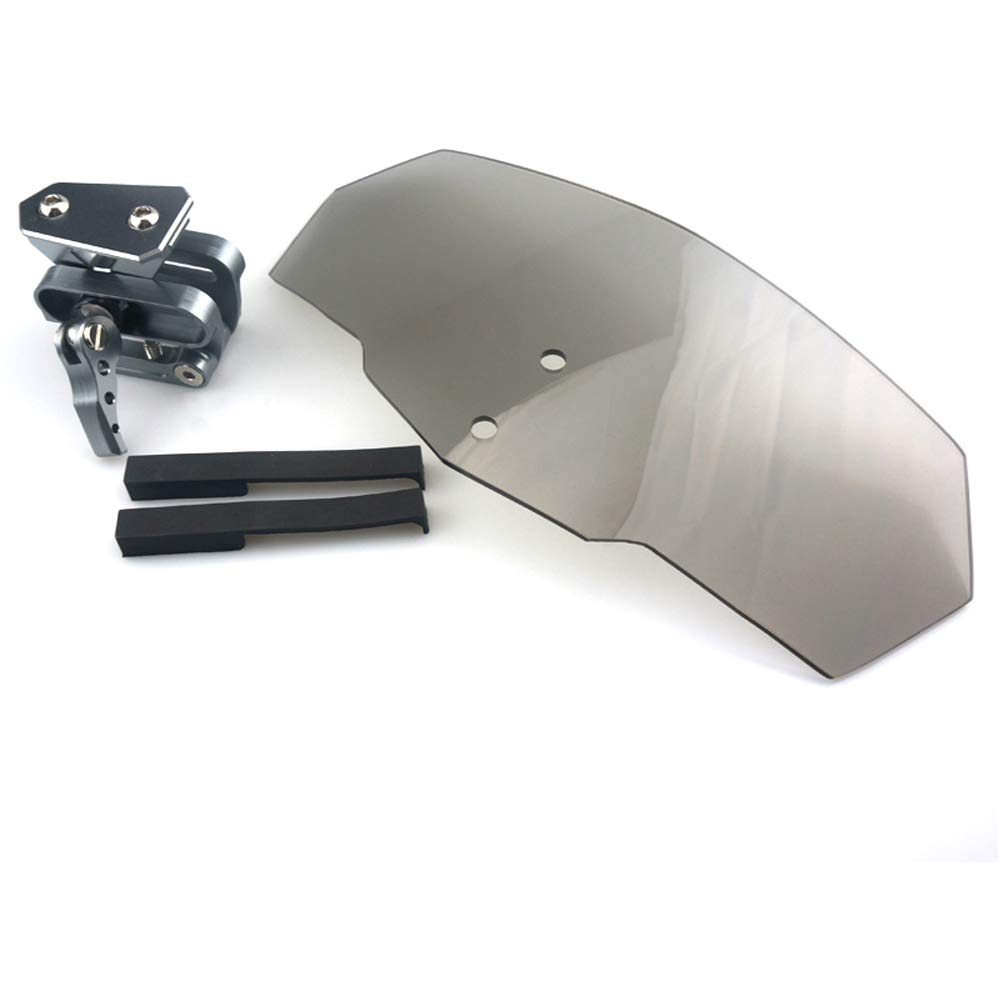 R1200GS C600 Sport R1100S K1200S F650CS F700GS 2013-2014 Windscreen Deflector Adjustable Windshield Screen For BMW K1300R F800GS