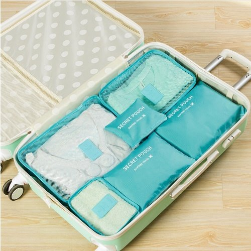 6pcs In One Set travel Bag