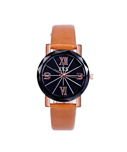 Fudule Women Watches, Classic Wristwatches with Leather Band Ladies Dress Watches Business Watches for Women Hot Sale