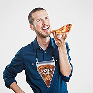 Portable Pizza Pouch - Great Gag Gift, Stocking Stuffer, Or For The Pizza Lover! from Pearl Enterprises