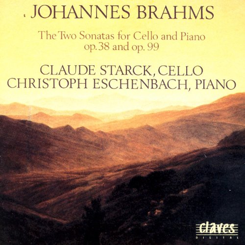 Brahms: The Sonatas for Cello & Piano Op. 38 & Op. 99 ()