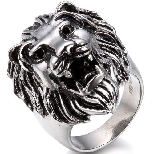 JewelryWe Biker Herren-Ring