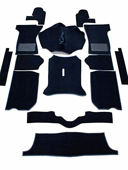 Triumph Spitfire 1300 1500 Complete Replacement Interior Carpet Kit High Quality Black