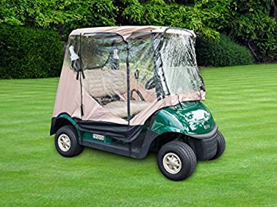 Trademark Innovations 7' Golf Cart Enclosure Cover for 2-Seater