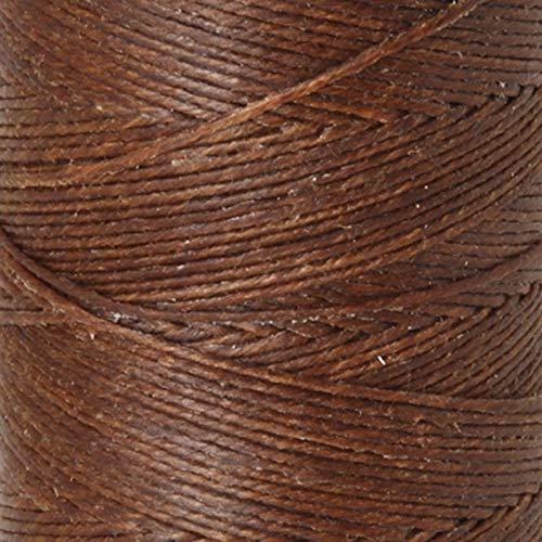 Supplies-2-Ply Waxed Irish Linen-Walnut Brown-200 Yard ()