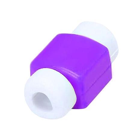 Cubiertas Protectores De Cable Mini Funda De LíNeas Cargador USB para iPhone iPad Ordenador Movil,