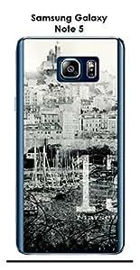 Carcasa Samsung Galaxy Note 5Design Marsella City