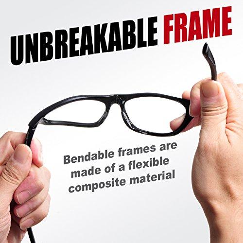 4872f88281 Duduma Polarized Sports Sunglasses for Baseball Running Cycling Fishing Golf  Tr646 Durable Frame (646 Black