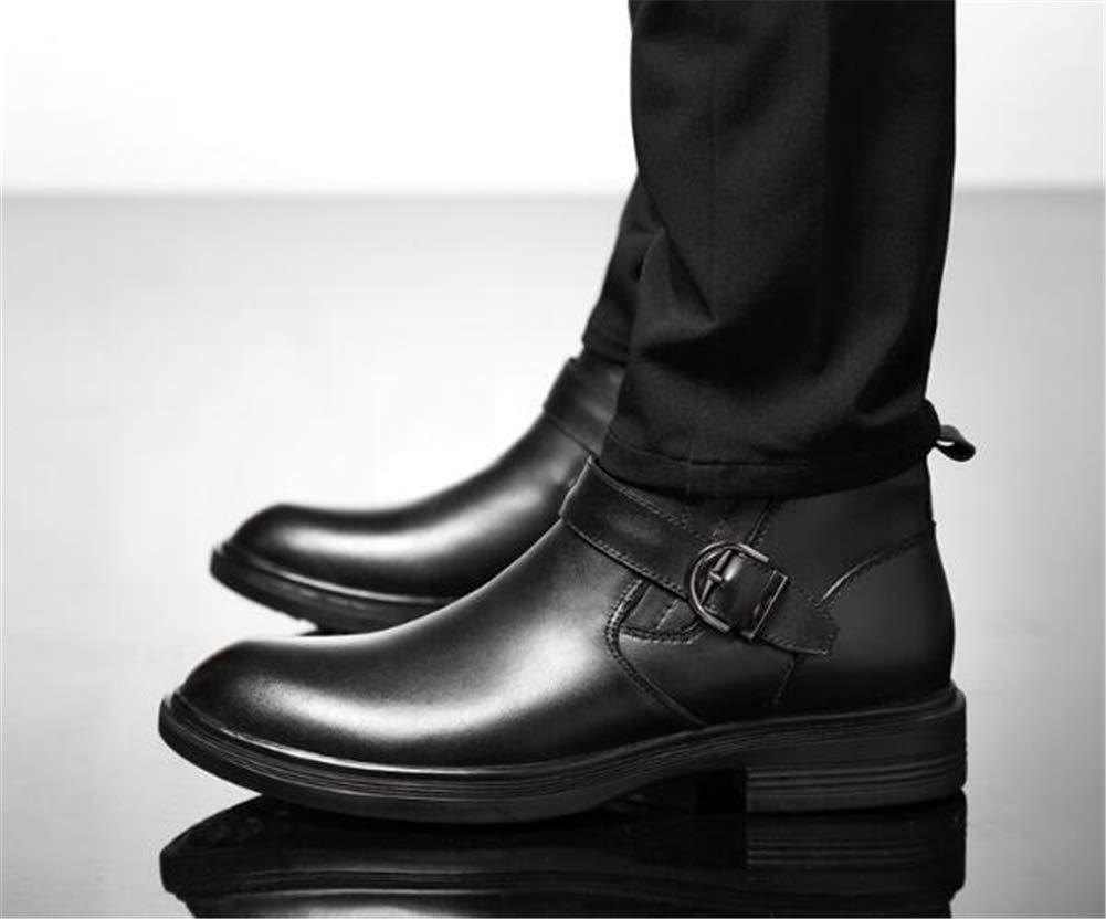 Männer Schuhe Herrenstiefel, warmes Leder Herrenschuhe Winter Herren High-Top Business Baumwolle Baumwolle Business Schuhe Rutschfeste Winterschuhe Martin Stiefel 36-46 Herrenmode Stiefel 0e629c