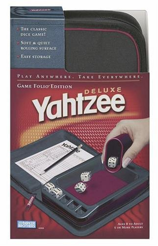 Yahtzee Folio - Games Folio Travel