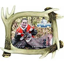River's Edge Realistic Looking Antler Photo Frame