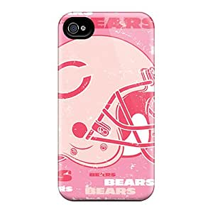 TimeaJoyce Iphone 4/4s Shock Absorption Cell-phone Hard Cover Provide Private Custom Colorful Cleveland Browns Image [bpa12063owPe]
