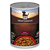 Hill'S Ideal Balance Adult Wet Dog Food, Roasted Beef & Zucchini Stew Canned Dog Food, 12.5 Oz, 12 Pack
