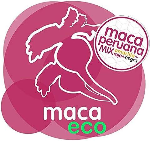 Energy Feelings | Maca Andina en Polvo Ecológica Peruana | Maca Mixta: Roja, Negra y Amarilla | Nutrición Deportiva | Vegana | Sin Gluten | 1kg