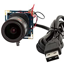 ELP 2.8-12mm Varifocul Lens 2.0megapixel Usb Camera,camera Module Usb for Android Windows Linux and Mac Os