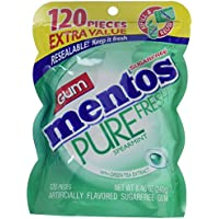 Mentos Pure Fresh Sugar-Free Chewing Gum w/ Xylitol 120 Pcs.