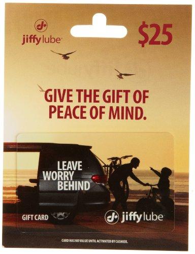 Jiffy Lube Gift Card $25 (Coupon Card Gift)