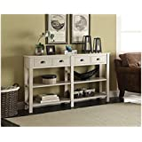 ACME Galileo Cream Console Table