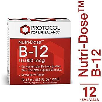 Amazon.com: NOW Foods B-12 10,000mcg Shots 0.5 ounce 12