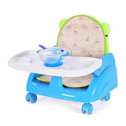e52afc5d8 Tronas Silla Elevadora Portátil para Niños Pequeños para Comer, Diseño  Plegable para Sillas De Cocina
