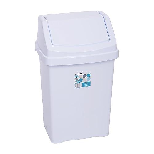 Wham Casa Swing Bin 25Litre Ice White 12517