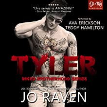 Tyler Audiobook by Jo Raven Narrated by Ava Erickson, Teddy Hamilton