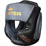 Meister Gel Full-Face Training Head Guard for MMA, Boxing & Muay Thai