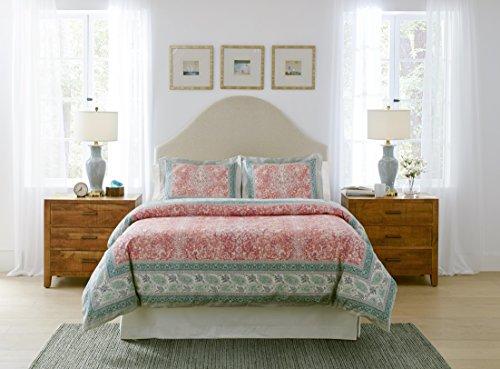 Pointehaven CAS3PKNGCOMF Casablanca Textured Print King Comforter Set