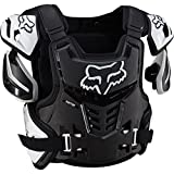 Fox Racing Adult Raptor Vest-Black/White-S/M