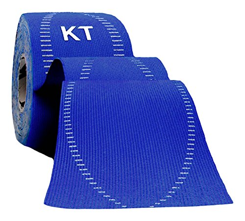 KT TAPE PRO Synthetic Elastic Kinesiology 20 Pre Cut Strips Therapeutic Tape, 10-Inch, Sonic Blue