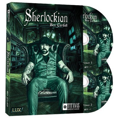 Sherlockian (2 DVD Set) by Ben Cardall and Titanas Magic - DVD by Titanas