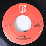 QUEEN 45 RPM Body Language / Life Is Real (Song For Lennon)