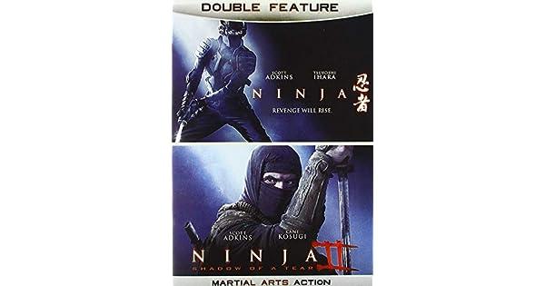 Amazon.com: Ninja Double Feature: Scott Adkins, Double ...