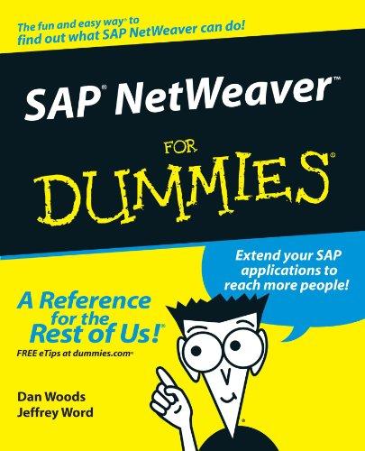 [B.O.O.K] SAP NetWeaver For Dummies<br />D.O.C