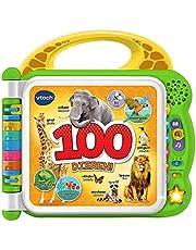 Vtech Baby - Mijn eerste 100 woordjes - Ontdek en maak kennis met 100 verschillende dieren - NL-EN - Educatief Babyspeelgoed - Stevig en duurzaam design - Leeftijd: 1 - 4 Jaar