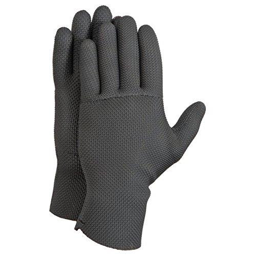 Glacier Glove Ice Bay Neo Gloves Medium 813BK MD - Fleece Lined Glacier Gloves