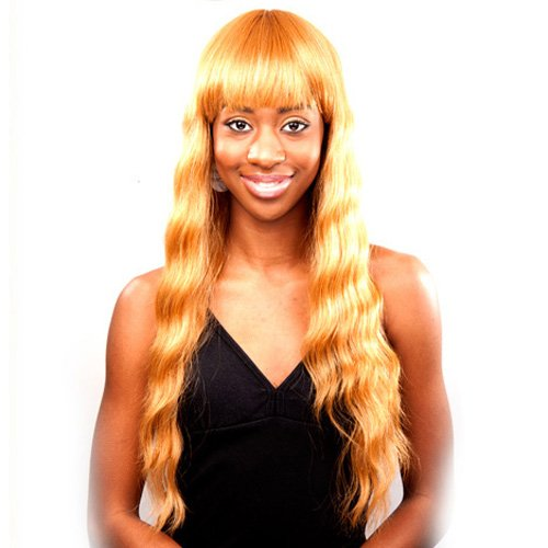 Price comparison product image JUNEE FASHION Remi Human Hair Wig - REMI H MACY (#1B - Off Black)