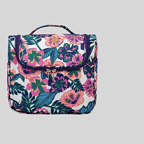 化粧ポーチ トラベルウォッシュバッグ男性と女性の大容量トラベルポータブルストレージバッグ多機能コスメティックバッグ ウォッシュバッグ (色 : A, Size : 24x12x20cm)