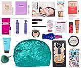 Ulta Beauty Mistletoe Kisses Beauty Bag Green Multi Brand 20 Piece Set