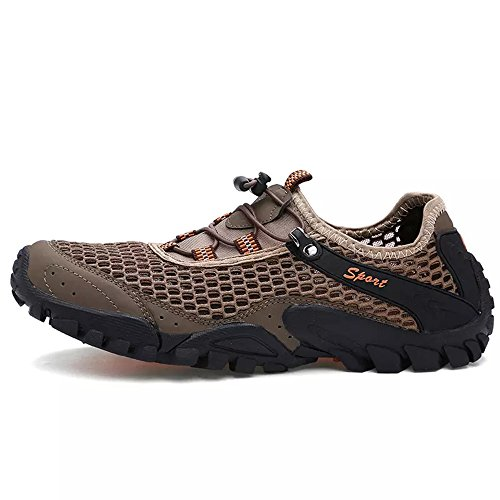 Meshlove Men's Mesh Breathable Walk Outdoor Lace up Athletic