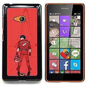 """Qstar Arte & diseño plástico duro Fundas Cover Cubre Hard Case Cover para Nokia Lumia 540 (Kaneua"""")"""