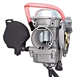 Radracing ATV Carburetor Replacement Kit for Arctic Cat 250 300 2x4 4x4 2001 2002 2003 2004 2005 Red Green
