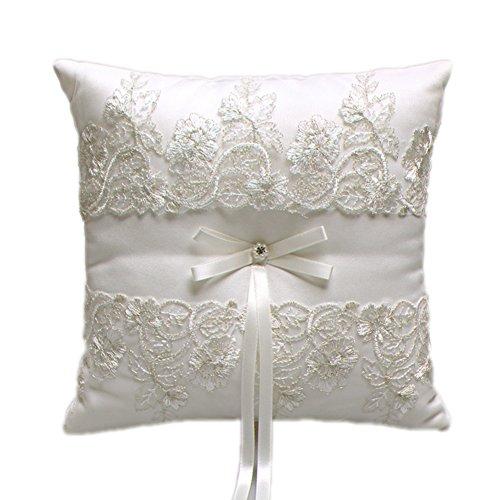 Aurora Bridal Wedding Pillow Rhinestone product image