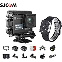 SJCAM SJ6 Kit Including Extra Battery, SJCAM Remote Watch SJ6 LEGEND Dual Screen 2″ LCD Touch Screen 2880×2160 Novatek NT96660 Panasonic MN34120PA CMOS 4K Ultra HD Sport DV Action Camera