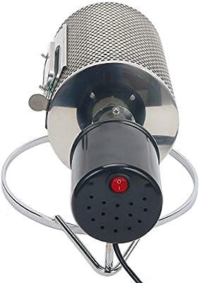 Guellin 40W Tostador de Grano de Caf/é Herramienta de Tostadora de Caf/é de Acero Inoxidable 220V M/áquina de Caf/é en Grano Tostadora de Caf/é
