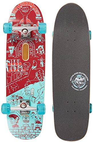 Sector 9 Joel Pro Complete Skateboard, Maroon (Joel Tudor Skateboard)