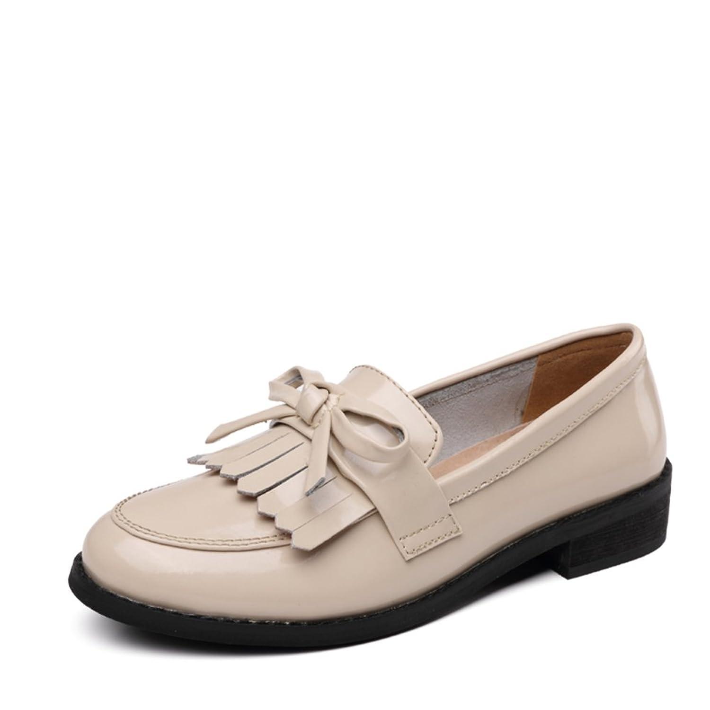cb9d85d3bd9b chic Lumière douce de l été Chaussures femmes Version coréenne des  chaussures plates en cuir Les souliers Chaussures femme