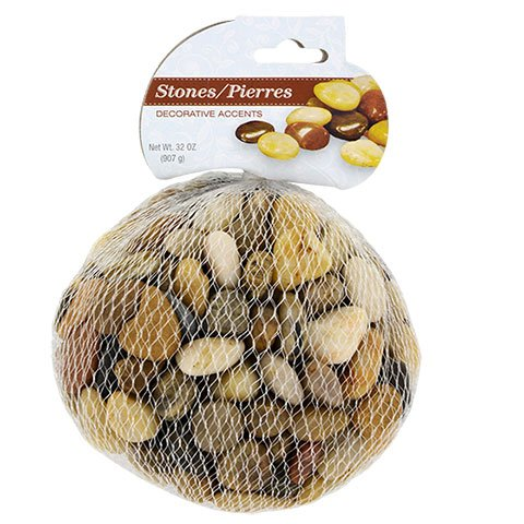 Stylish Stones Vase Filling Decorative Rocks Accents. Goes great in Fish Tanks, Aquariums, and Plants.32oz by Stylish Stones