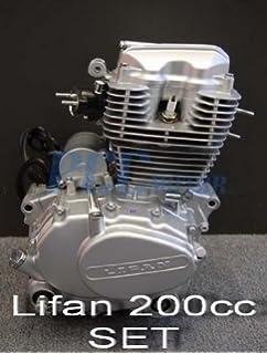 Amazon com: 70L LIFAN 200CC 5 SPD ENGINE MOTOR MOTORCYCLE